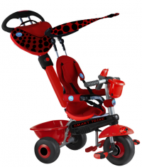 Велосипед 3-x колёсный Smart Trike ZOO-Collection Ladybug