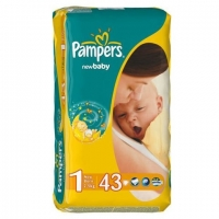 Подгузники Pampers New Baby 1 New Born ( 2-5 кг)